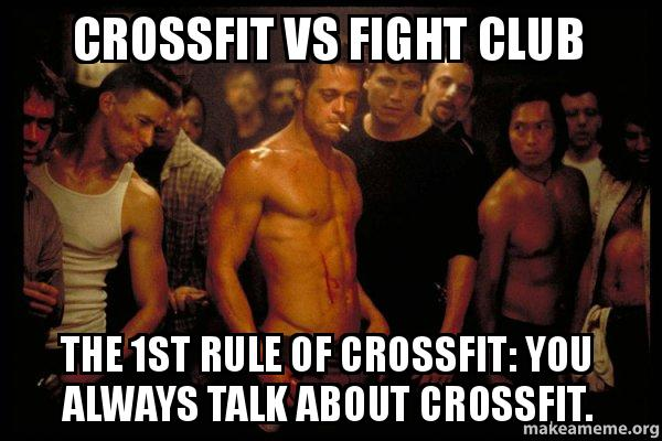 CrossFit vs Fight Club