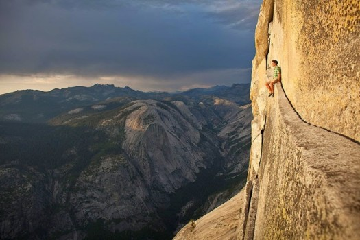 Free soloing... find flow or die.